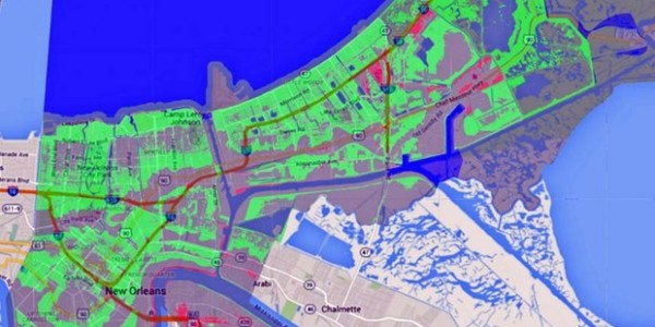 New FEMA rate maps for New Orleans, LA